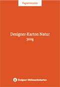 Designer-Karton Natur 300g