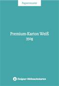 Premium-Karton Weiß 350g