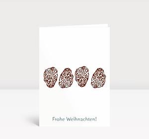 Edle Weihnachtskarten.Weihnachtskarten Von Britta Ruge Kollektion 2019