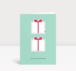 Weihnachtskarte Last-Minute-Geschenk