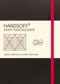 Weihnachtskarte Handsoff(R) Weihnachtskalender rot