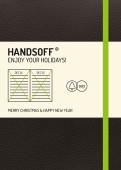 Weihnachtskarte Handsoff(R) Weihnachtskalender grün