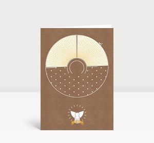 Weihnachtskarte DIY-Engeli
