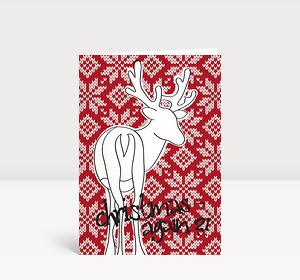 Weihnachtskarte Christmas again?