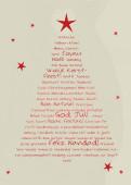 Weihnachtskarte Typobaum rot