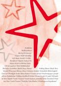 Weihnachtskarte Sterne international rot