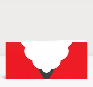 Weihnachtskarte Nikolaus