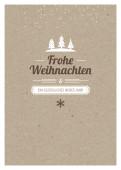 Weihnachtskarte Kleine Weihnacht Karton