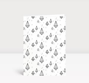 Weihnachtskarte Diamonds