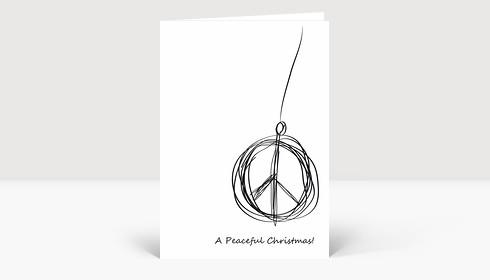 Weihnachtskarte A Peaceful Christmas