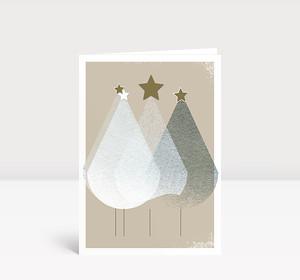 Weihnachtskarte Edle Weihnachtstannen