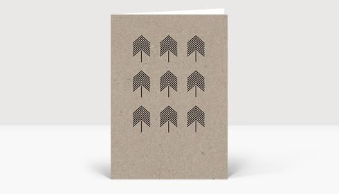 Weihnachtskarte Eco Series #1