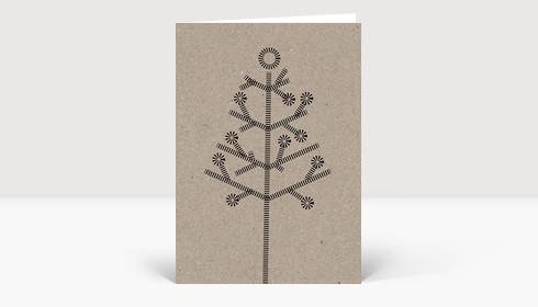 Weihnachtskarte Eco Series #2