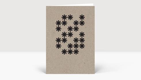 Weihnachtskarte Eco Series #3