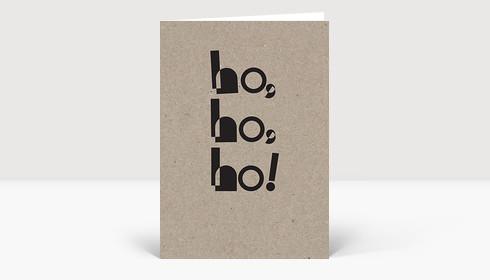 Weihnachtskarte Eco Series #4