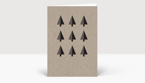 Weihnachtskarte Eco Series #5