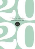 Weihnachtskarte Typoart 2019 mintgrün
