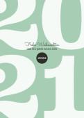 Weihnachtskarte Typoart 2022 mintgrün
