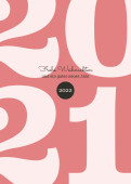 Weihnachtskarte Typoart 2022 altrosa