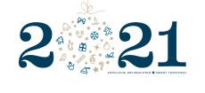 Weihnachtskarte Weihnachtskugel 2021