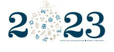 Weihnachtskarte Weihnachtskugel 2022