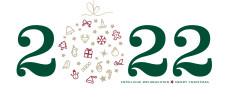 Weihnachtskarte Weihnachtskugel 2022 grün