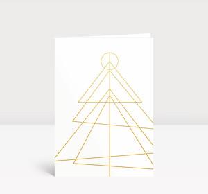 Weihnachtskarte Peace on Earth