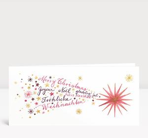 Weihnachtskarte Weihnachtskomet International