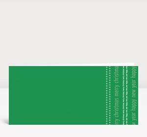 Weihnachtskarte Weihnachten & Neujahr Typo grün
