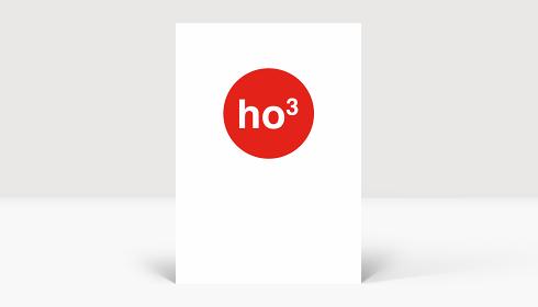 Weihnachtskarte HO hoch 3, Postkarte A6 Hoch