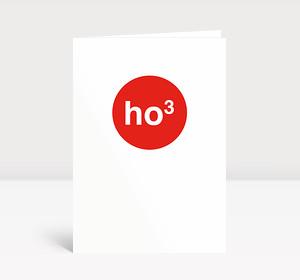 Weihnachtskarte HO hoch 3