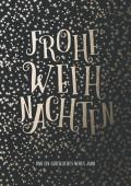 Weihnachtskarte Sternenkarte #1