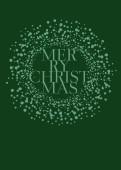 Weihnachtskarte Schneekugel grün