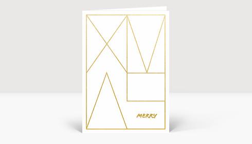 Weihnachtskarte XMAS