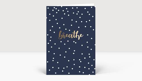 Weihnachtskarte breathe