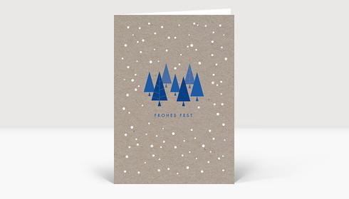 Weihnachtskarte Zauberhafte Weihnachten