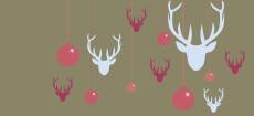 Weihnachtskarten mit weihnachtskugeln designer - Christbaumkugel englisch ...