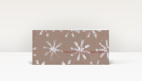 weihnachtskarte wei e weihnachtssterne auf karton dk59. Black Bedroom Furniture Sets. Home Design Ideas