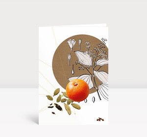 Weihnachtskarte Glühwein Rezept