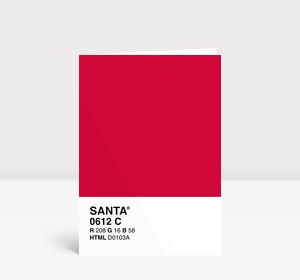 Weihnachtskarte SANTA(R)