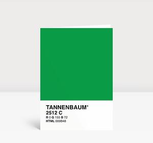 Weihnachtskarte Tannenbaum(R)