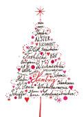 Weihnachtskarten 10er set designer weihnachtskarten - Weihnachtskarte englisch ...