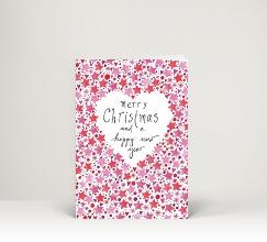 Weihnachtskarten mit sternen designer - Weihnachtskarte englisch ...