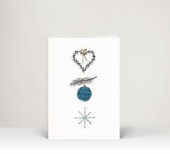 Weihnachtskarten mit weihnachtskugeln designer - Weihnachtskugel englisch ...